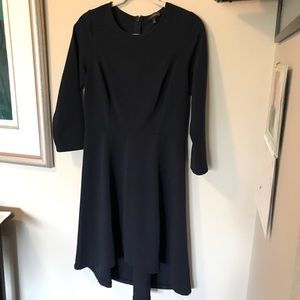 Navy Dress - The Limited